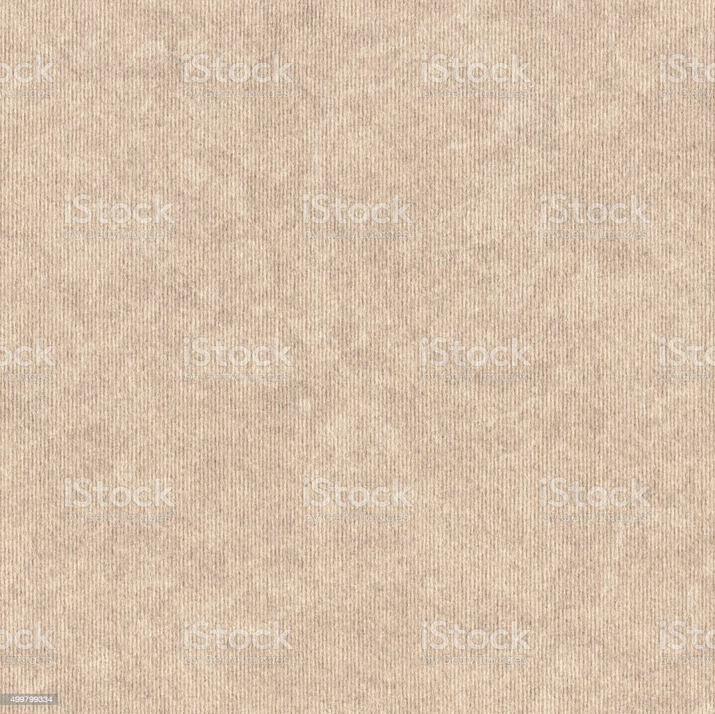 Beige Recycled Wrapping Paper Coarse Mottled Grunge Texture stock photo