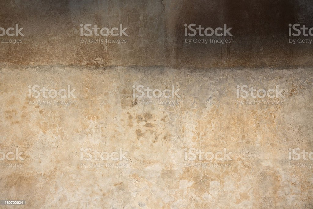 Beige Roman wall texture, Rome Italy royalty-free stock photo