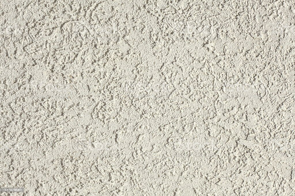 beige roughcast house wall background royalty-free stock photo