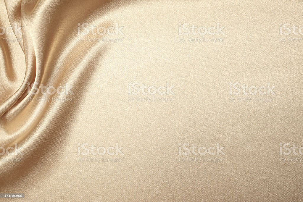 Beige Silk Background stock photo