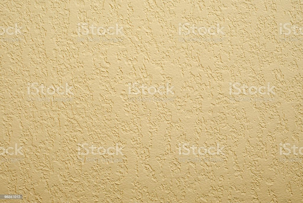 Beige Stucco Wall Background stock photo