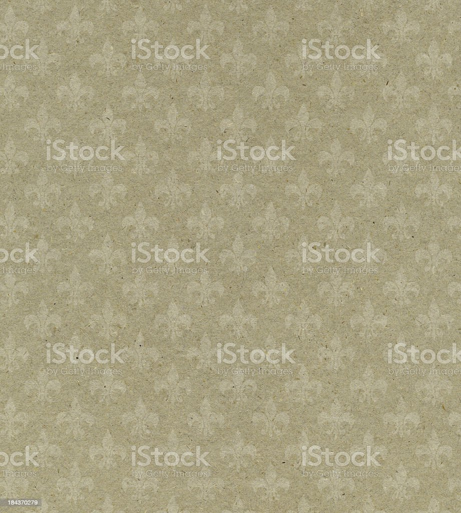 beige textured paper with symbol royalty-free stock photo
