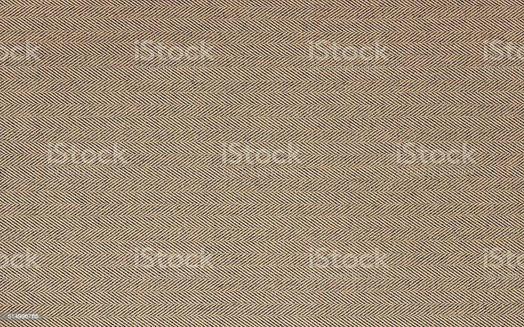 Beige tweed. Horizontal background tweed fabric. stock photo