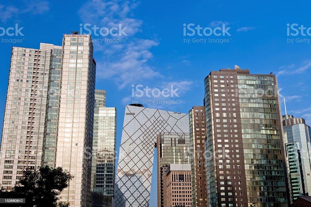 Beijing CBD, China royalty-free stock photo