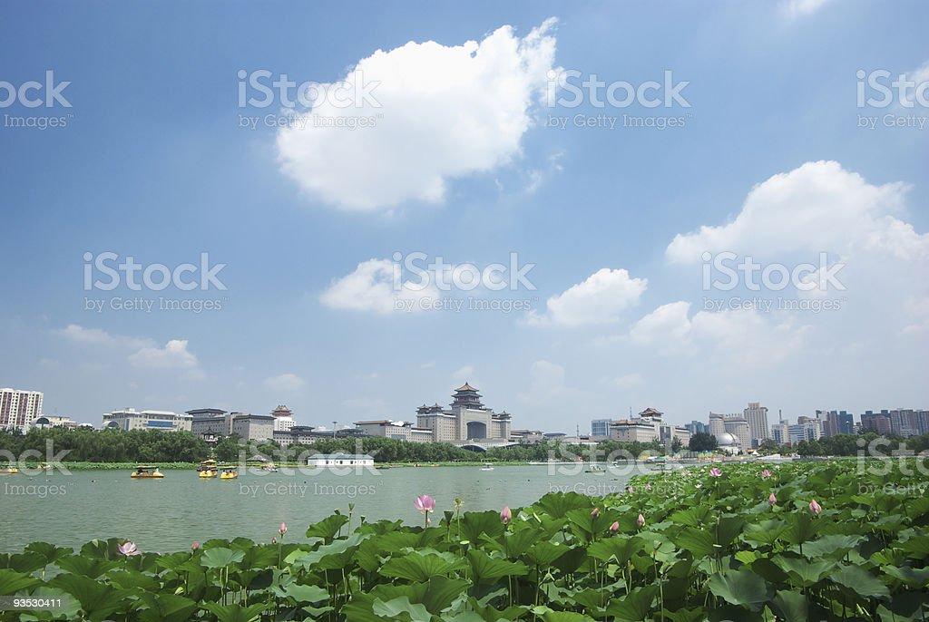Beijing Cityscape stock photo