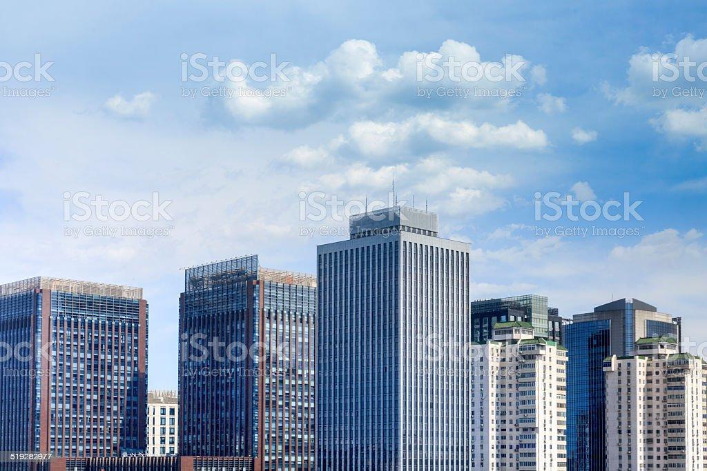 Beijing Financial Center stock photo