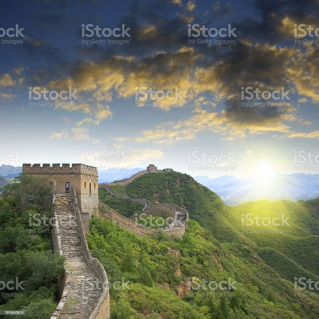 Beijing Great Wall of China stock photo