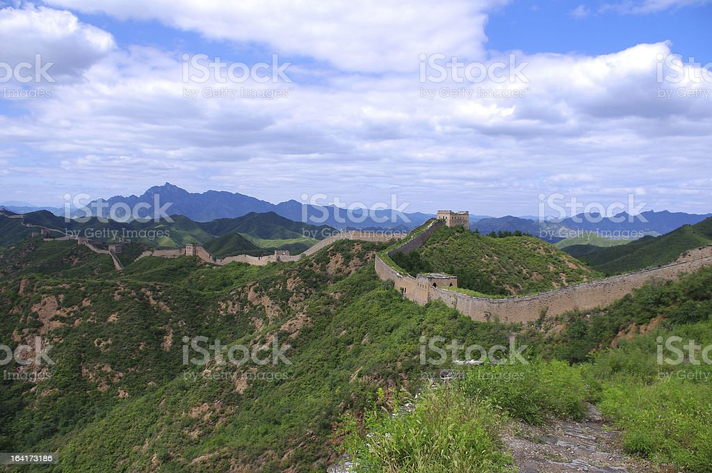 Beijing Great Wall royalty-free stock photo