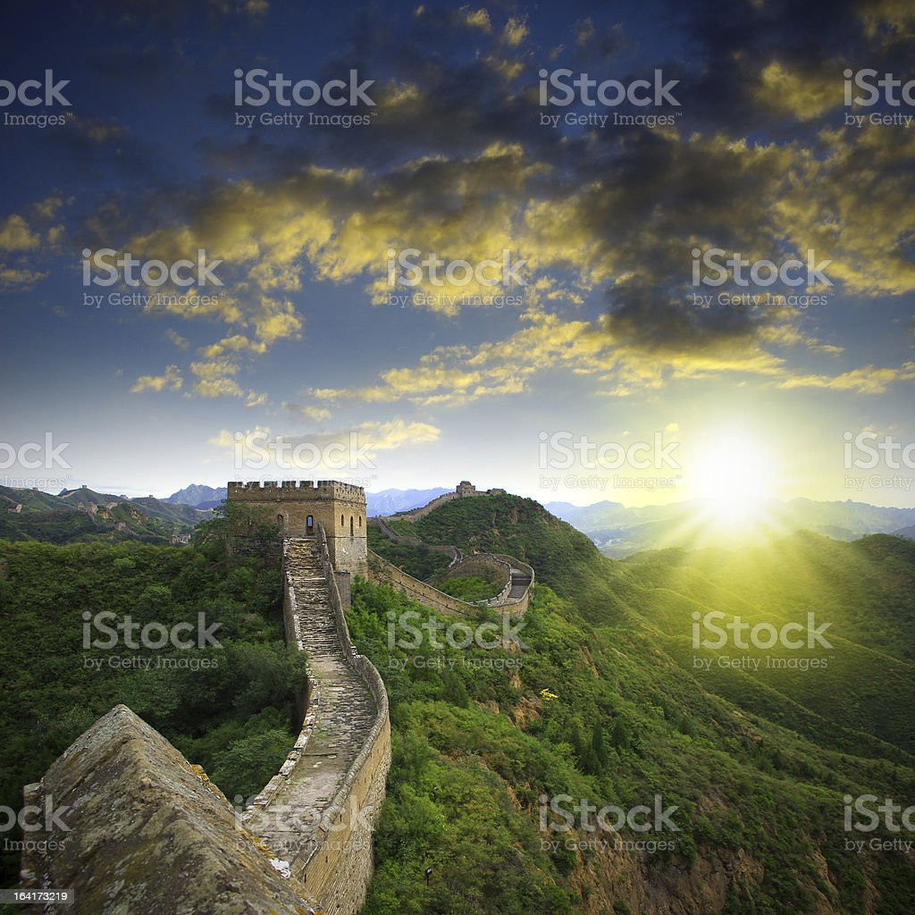 Beijing Great Wall stock photo
