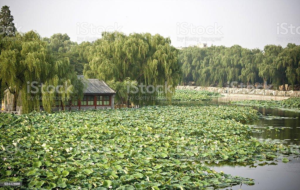 Beijing Imperial Beihai Lake royalty-free stock photo