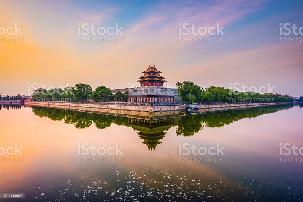 Beijing Imperial City stock photo