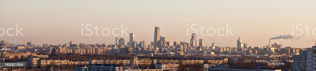 beijing in morning royalty-free stock photo