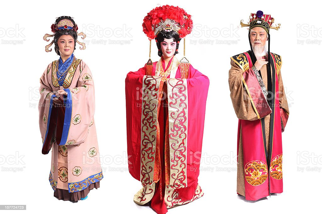 Beijing opera actor stock photo