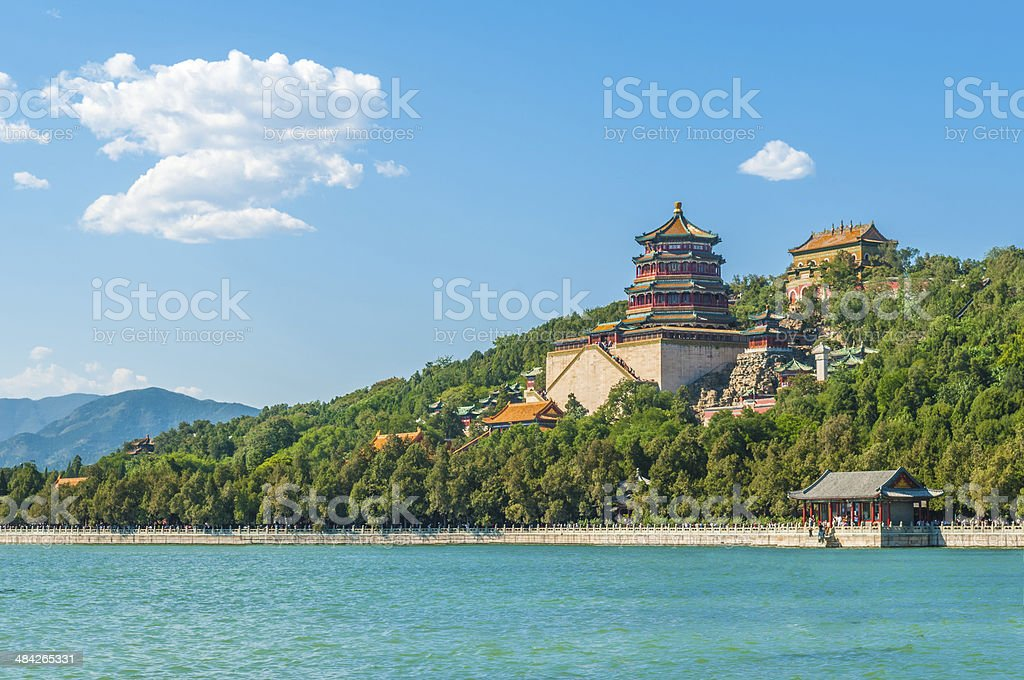 Beijing Summer Palace stock photo