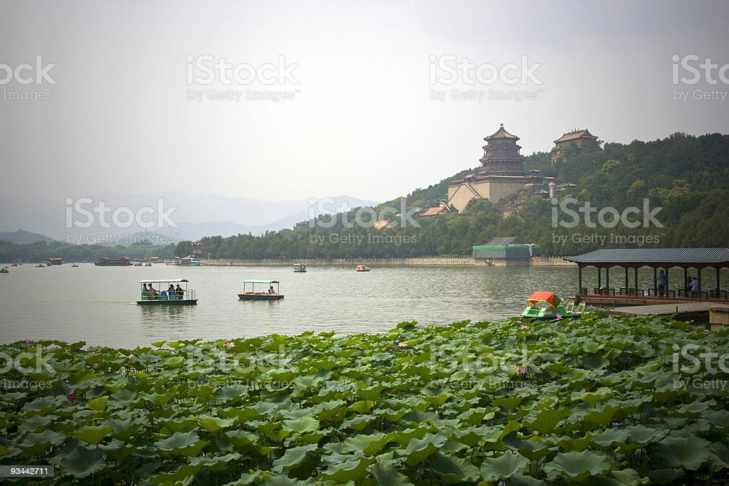 Beijing Summer Palace royalty-free stock photo