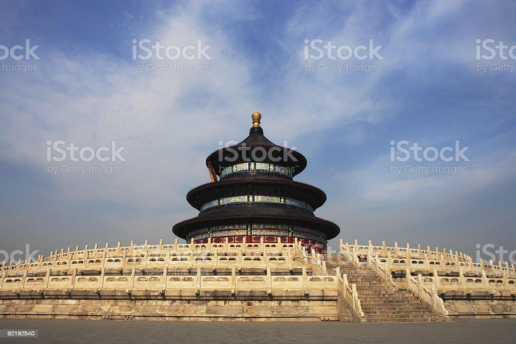 Beijing, Temple of Heaven royalty-free stock photo