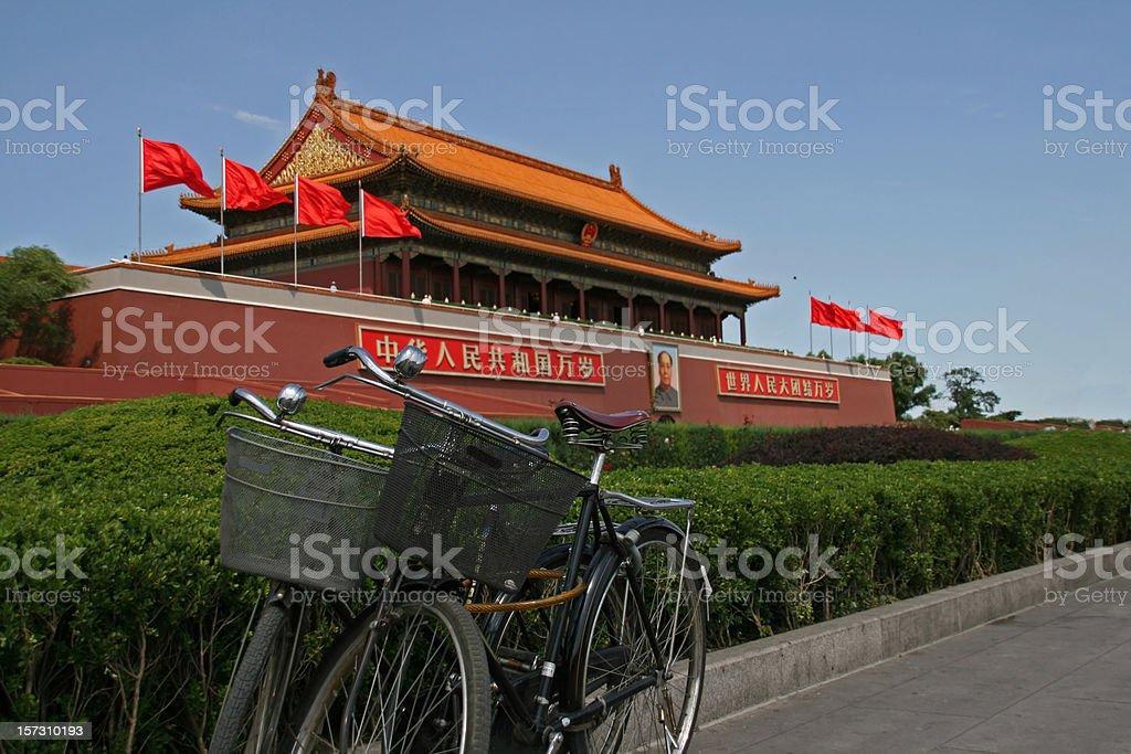 Beijing Tiananmen Gate royalty-free stock photo