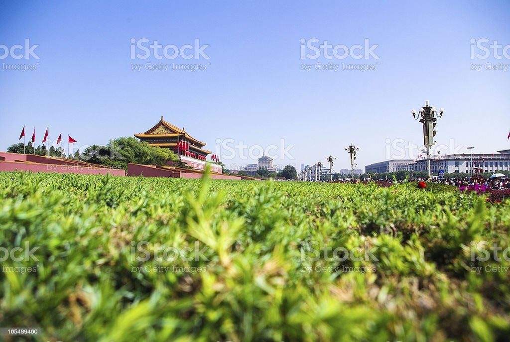 Beijing - Tiananmen Gate royalty-free stock photo