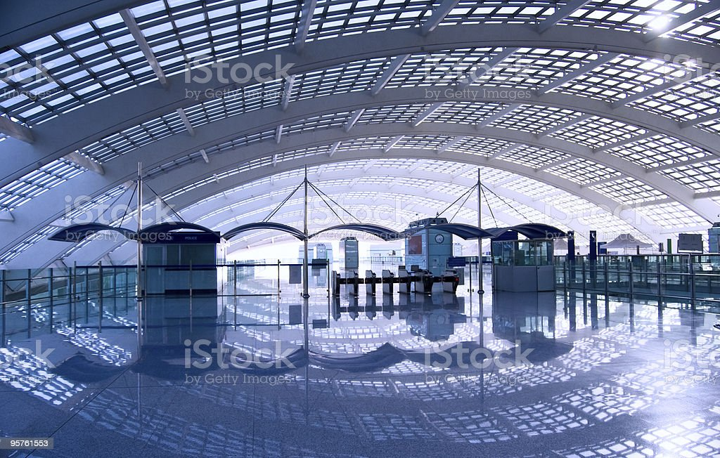 Beijing Train Station royalty-free stock photo