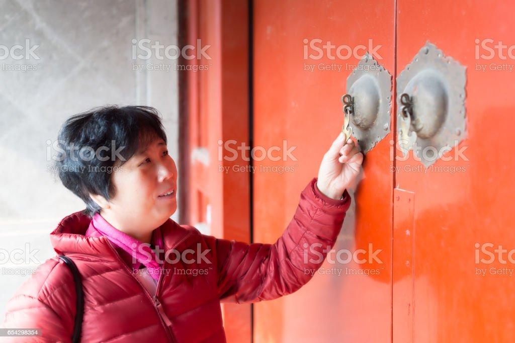 Beijing Visit stock photo