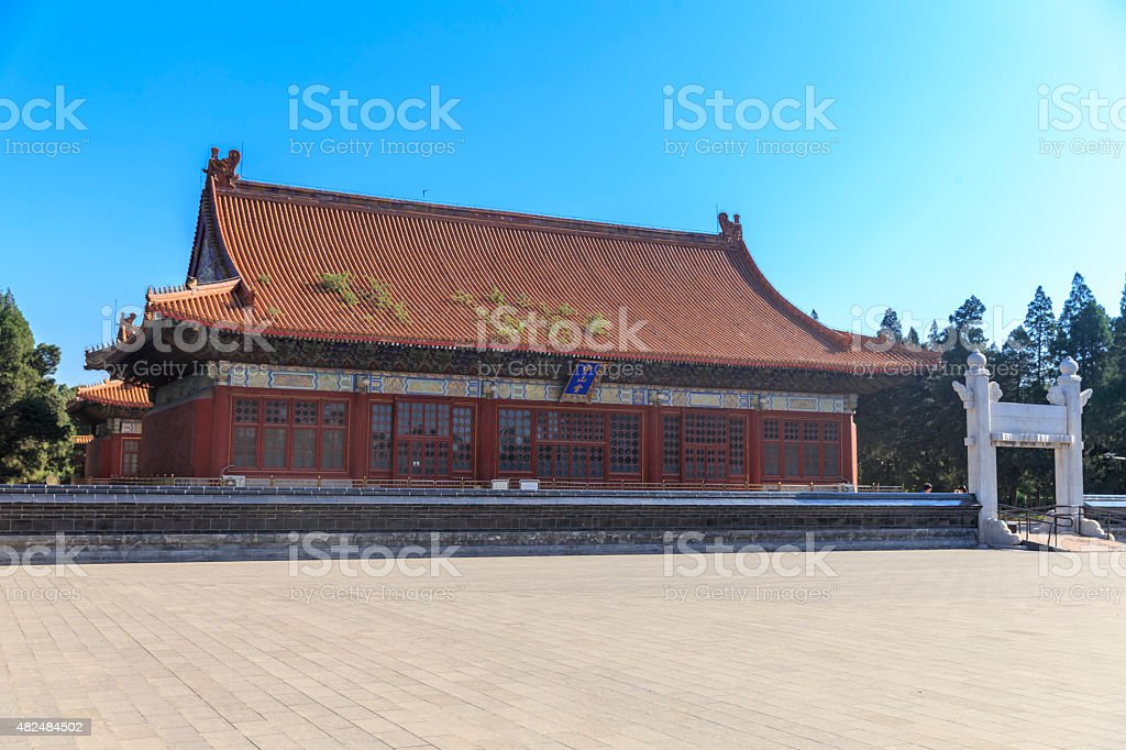 Beijing Zhongshan Park stock photo