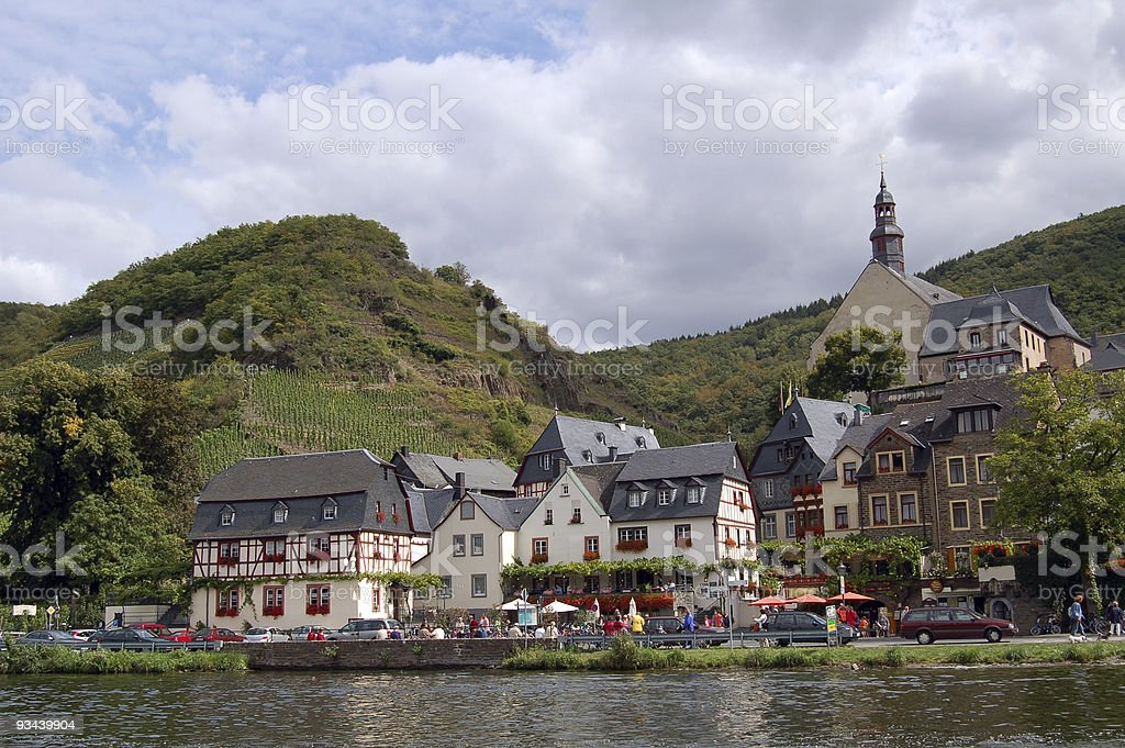 Beilstein in Mosel valley royalty-free stock photo