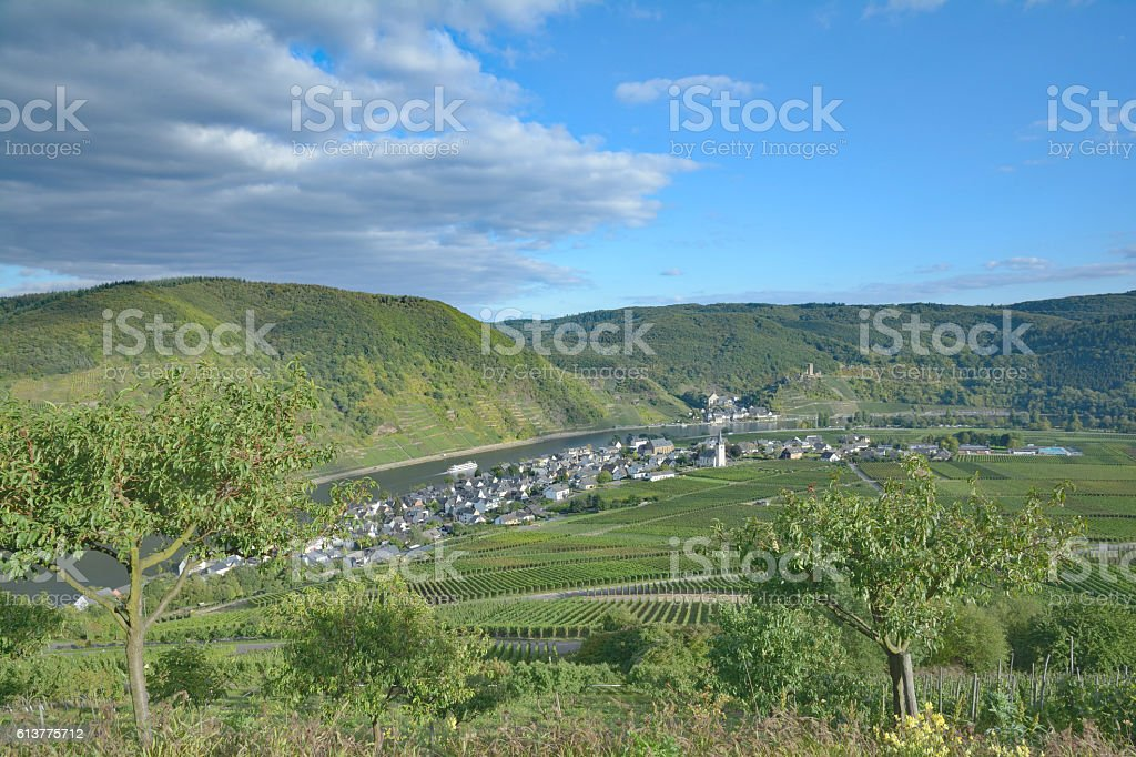Beilstein,Ellenz-Poltersdorf,Mosel Valley,Germany stock photo