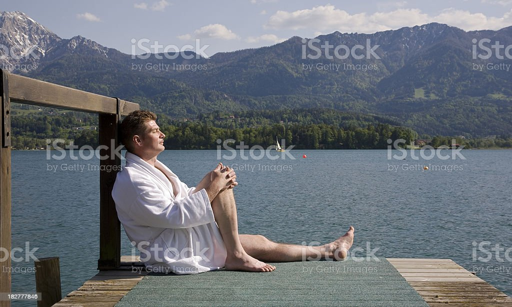 Being at sea, royalty-free stock photo