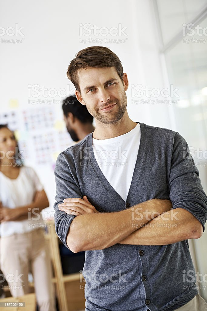 Being creative and productive is a passion royalty-free stock photo