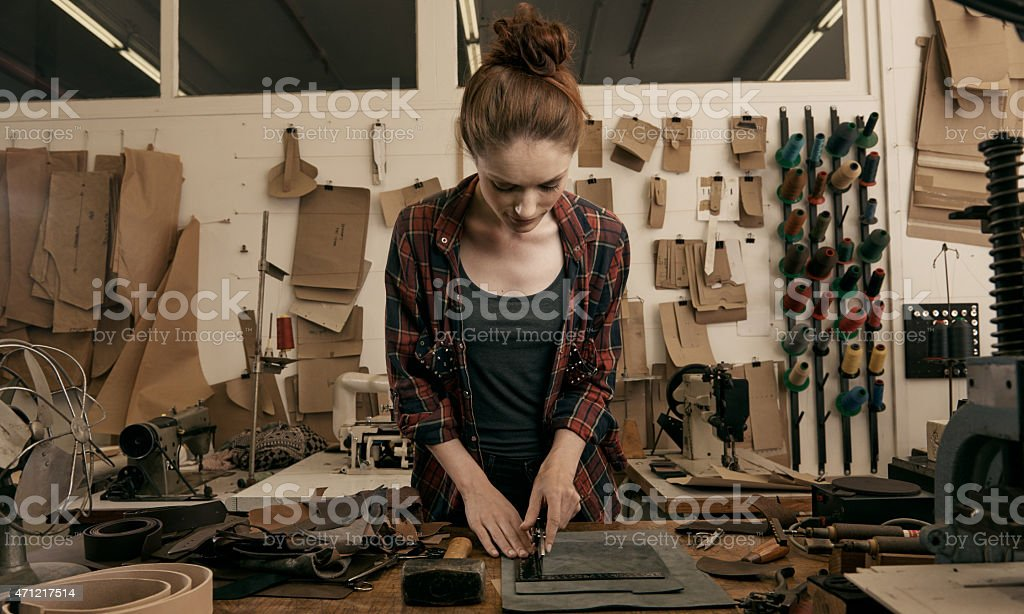 Being creative isn't a hobby, it's a way of life stock photo