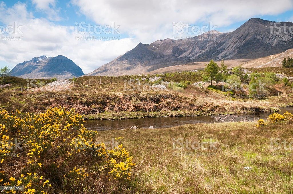 Being Eighe and Liathach stock photo
