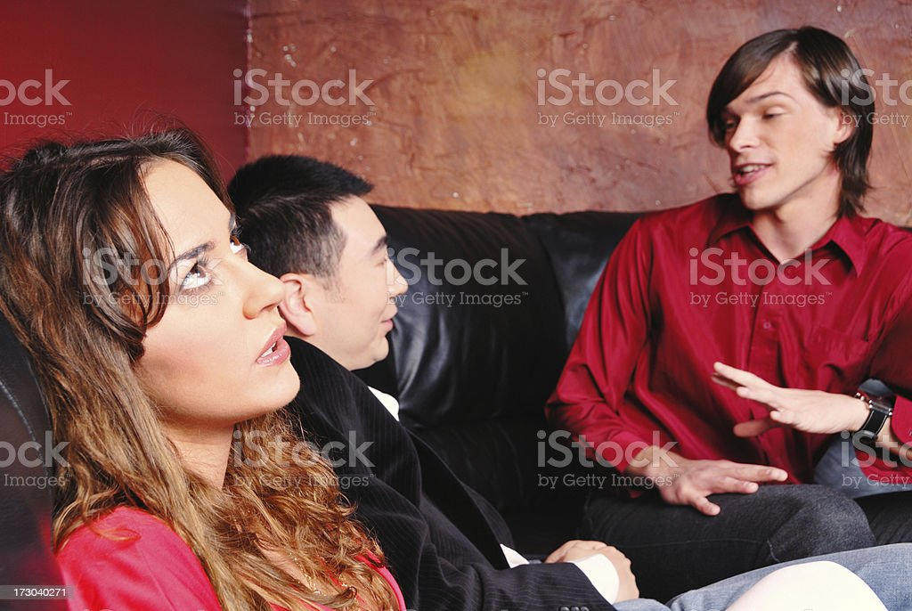 Being Ignored royalty-free stock photo