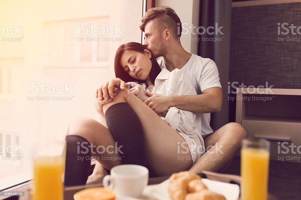 Being Lazy Together stock photo