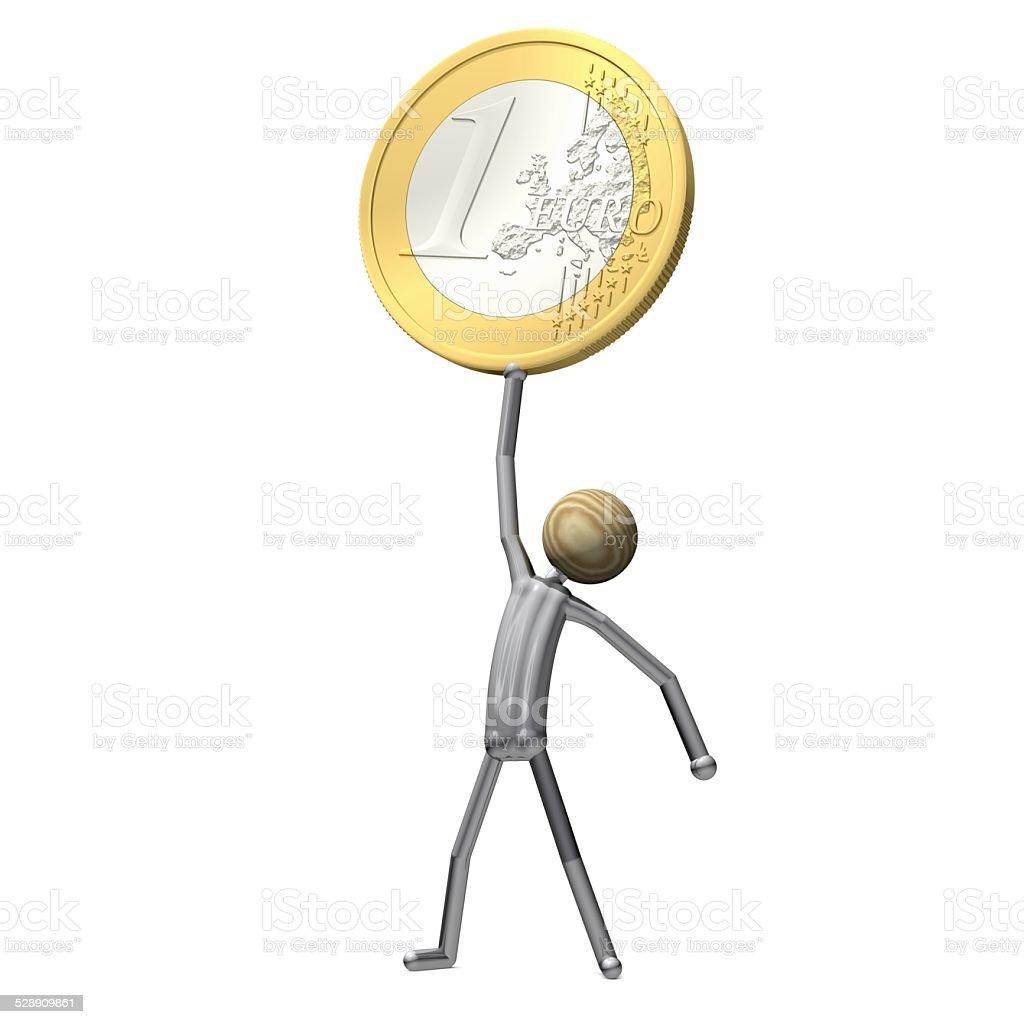 Being Proud of Money 1 stock photo