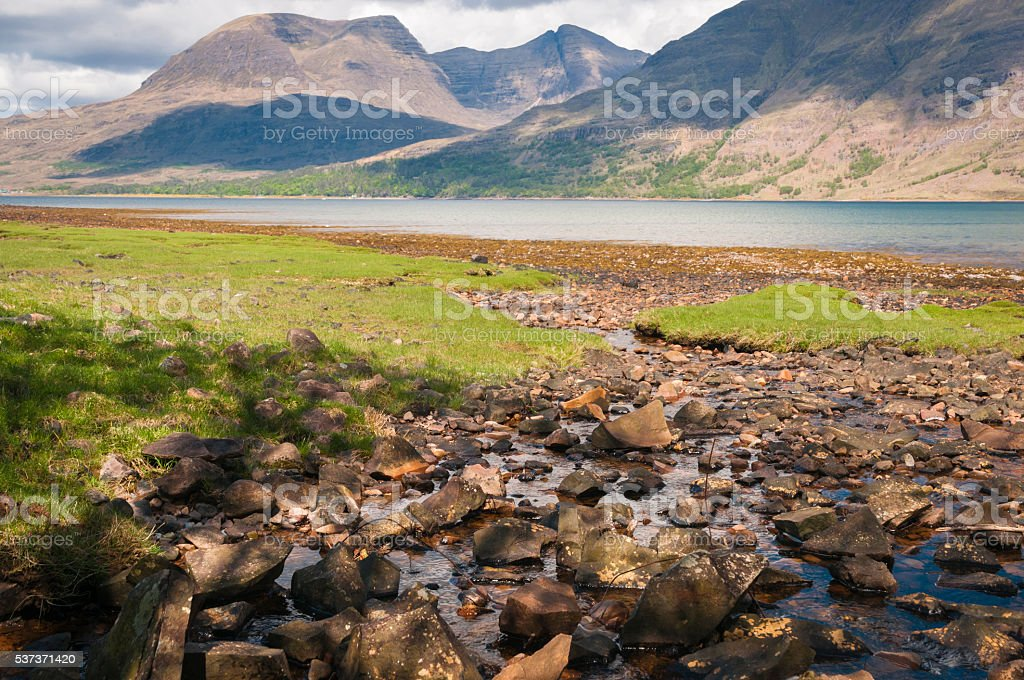 Beinn Alligin stock photo