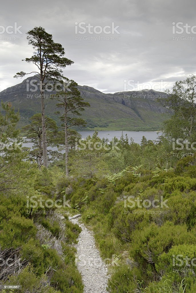 Beinn Eighe National Nature Reserve stock photo