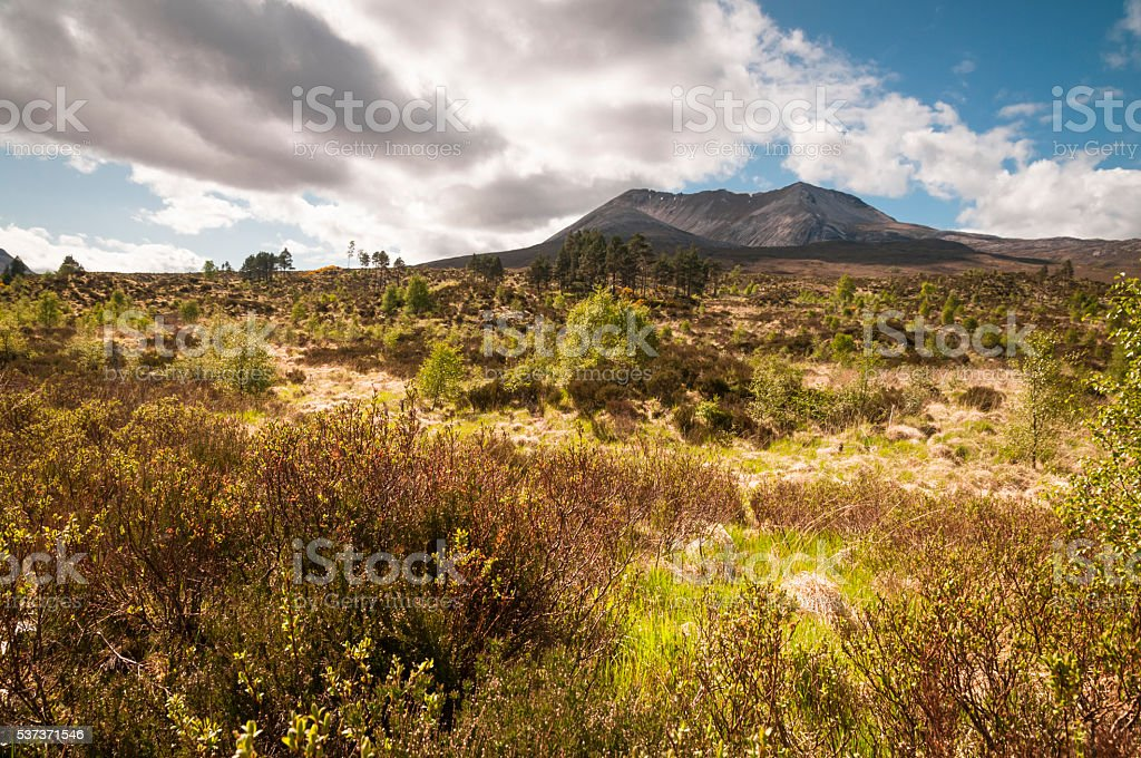 Beinn Eighe stock photo
