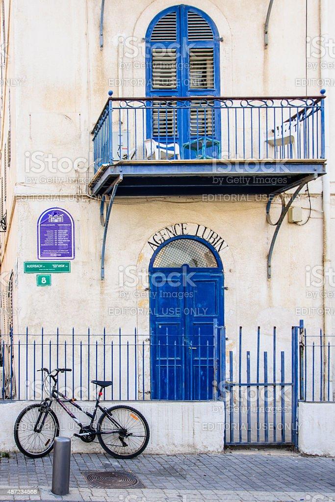 Beit Immanuel, Tel Aviv stock photo