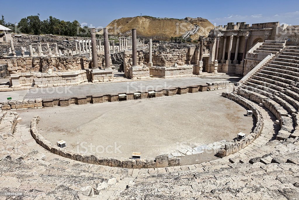 Beit Shean National Park royalty-free stock photo