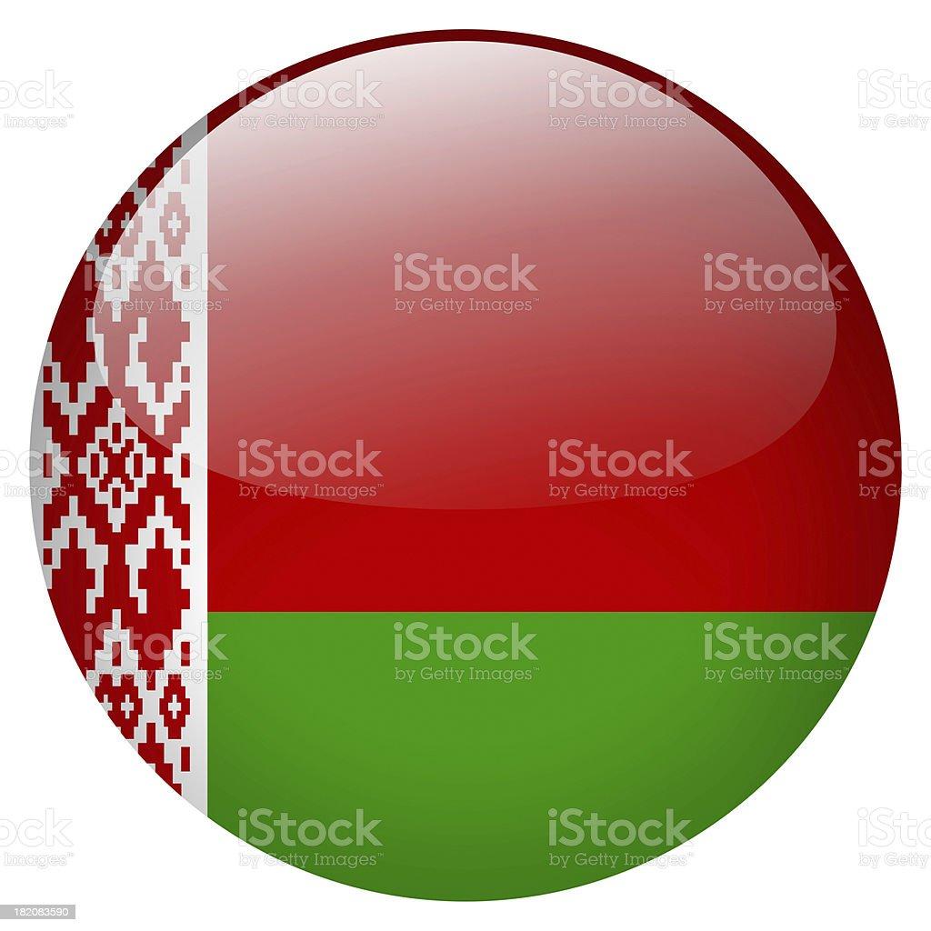 Belarus flag button royalty-free stock photo