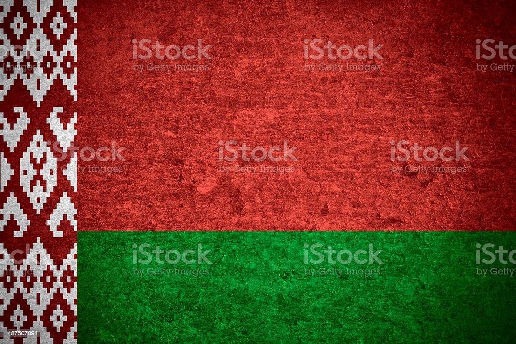 Belarus flag stock photo