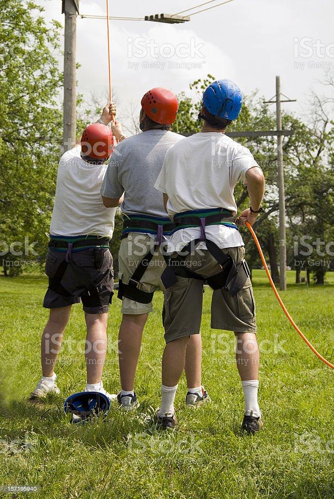 Sicherung Team Lizenzfreies stock-foto