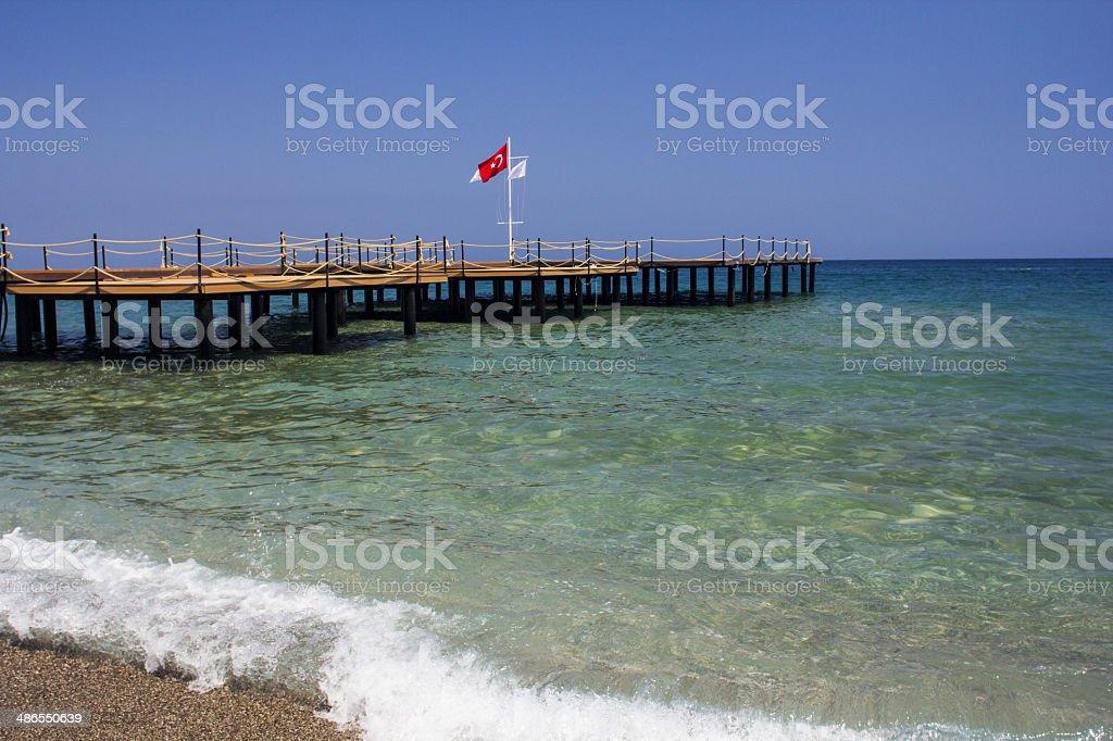 Beldibi, Turkey, summer 2014 royalty-free stock photo