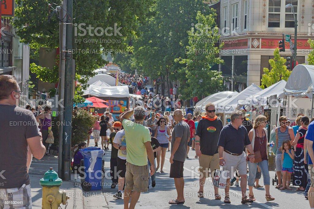 2013 Bele Chere Street Festival stock photo