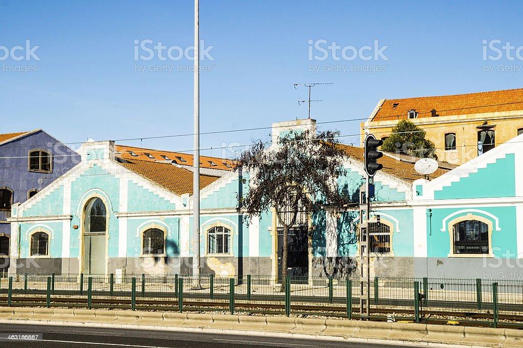 Belem District, Lisbon, Portugal stock photo