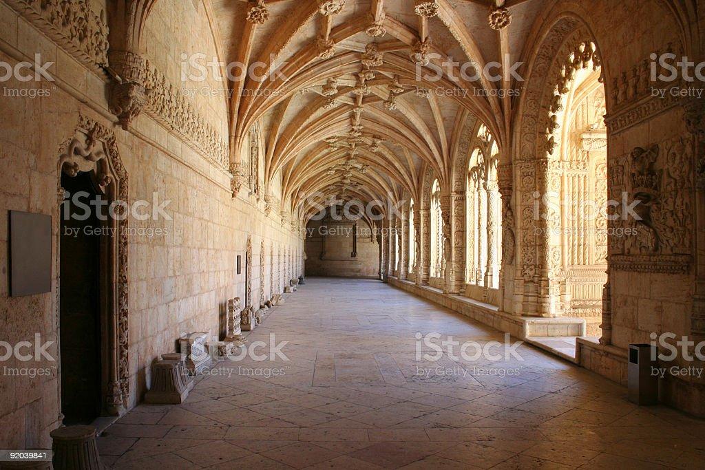 Belem Monastery stock photo