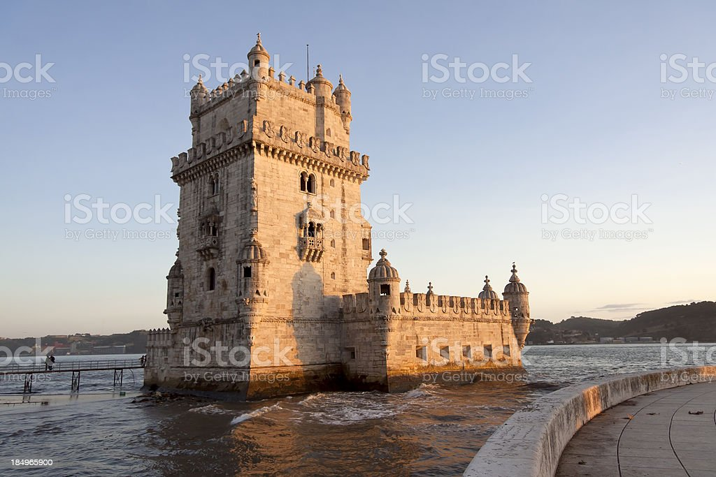 Torre de Belem, Lisbon stock photo