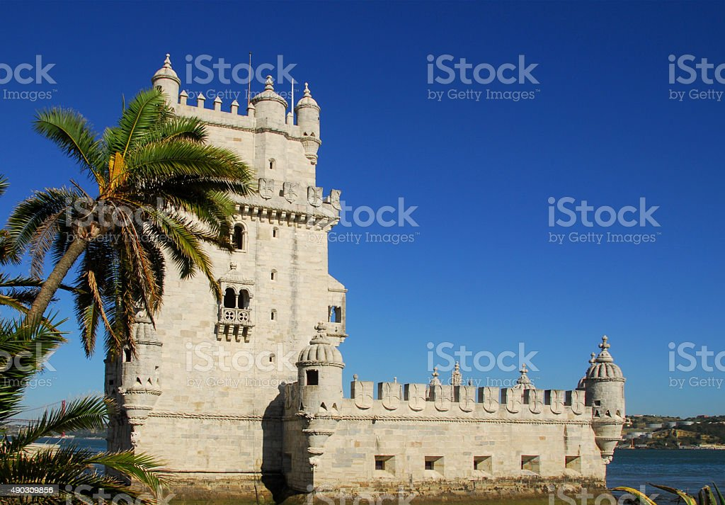 Belem Tower, Lisbon, Portugal stock photo