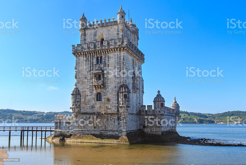 Belem Tower, Lisbon, Portugal. stock photo