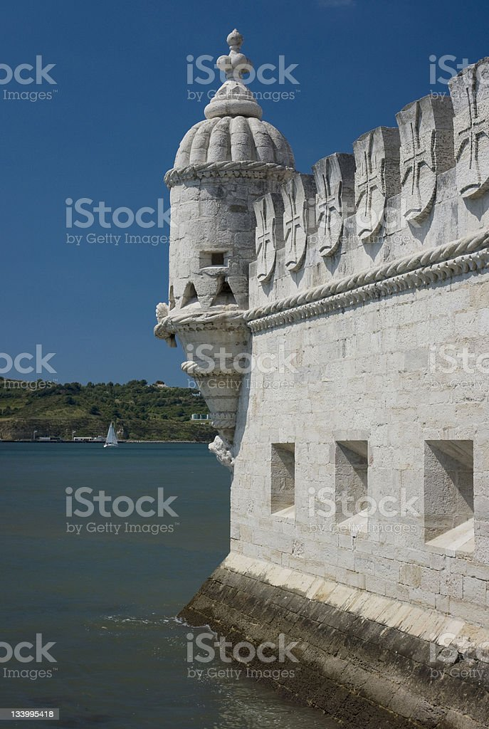 Belem Tower Lisbon Portugal royalty-free stock photo